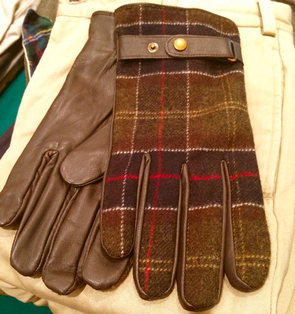 Barbour gloves