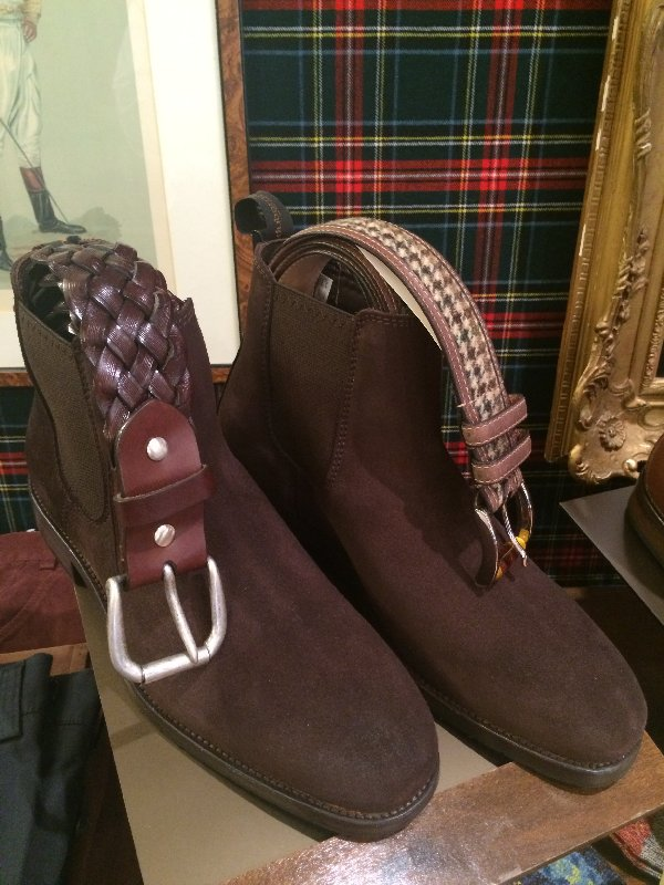 Dubarry suede