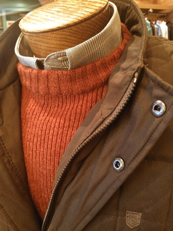 Dubarry vest detail