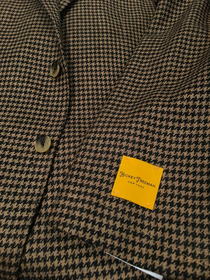 Hickey Freeman houndstooth
