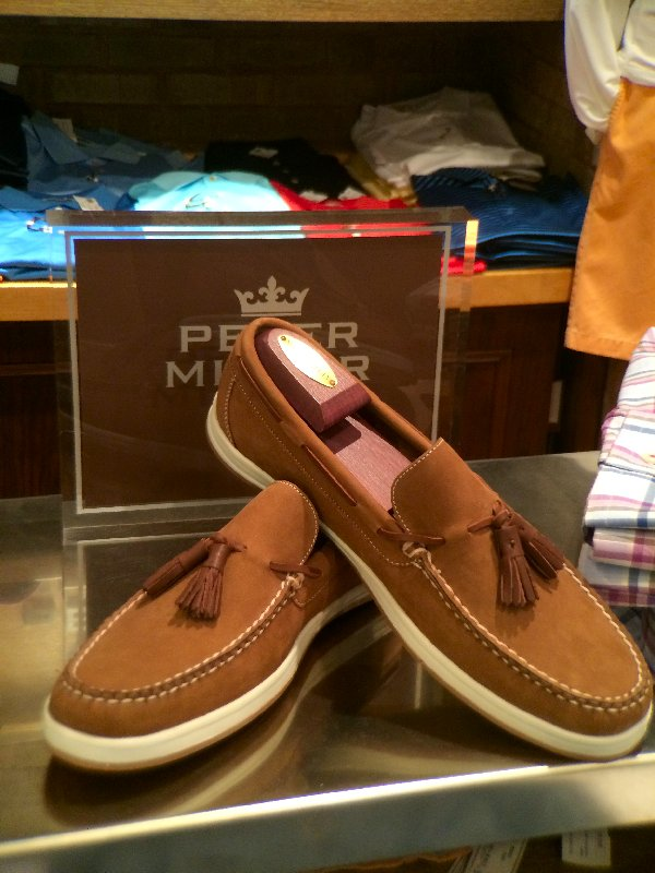 Millar boat shoes