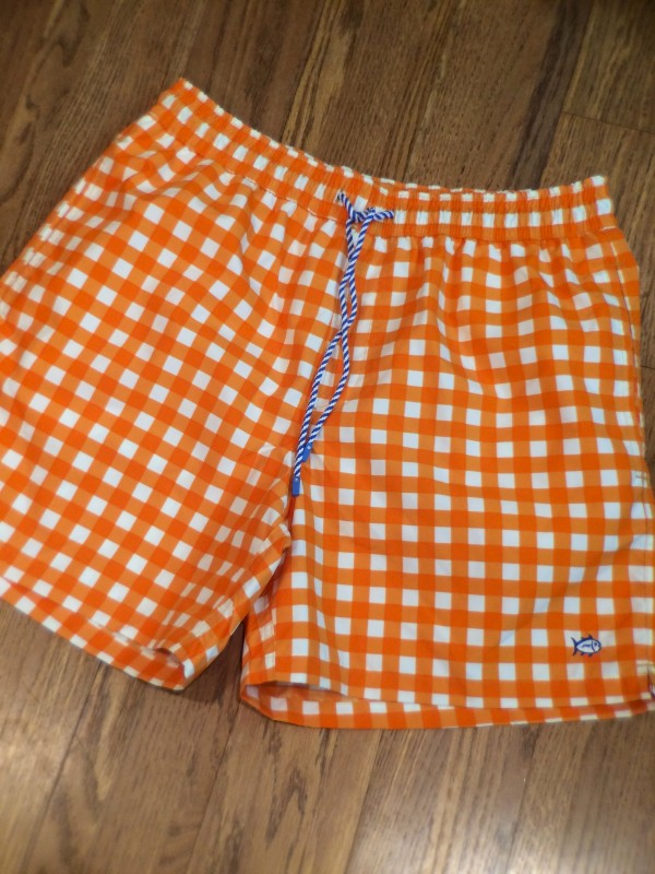S Tide orange check
