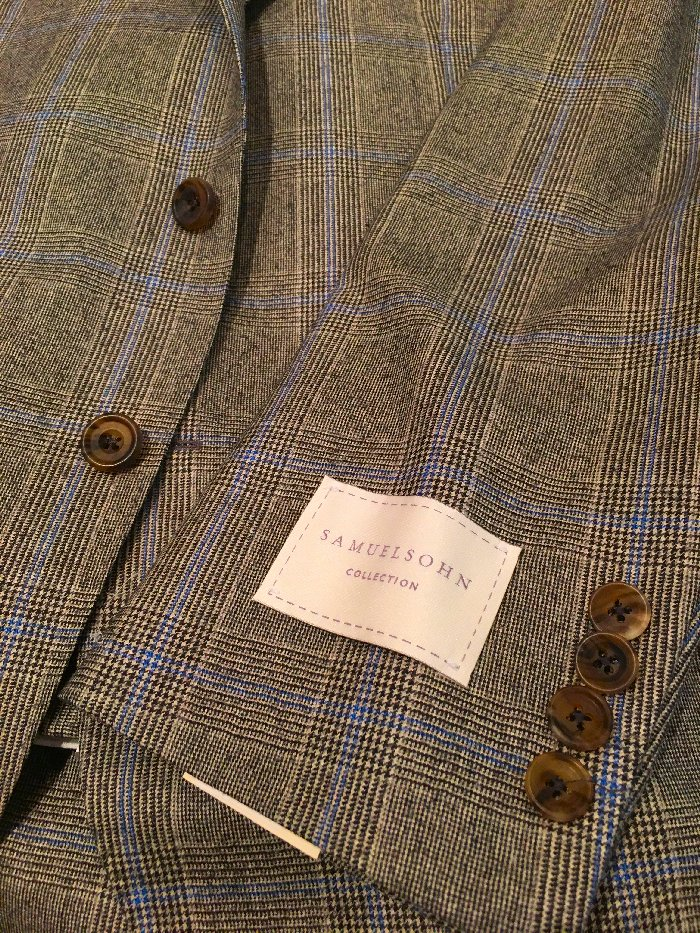 Samuelsohn Glen plaid